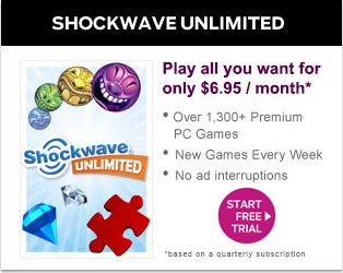 Shockwave Unlimited - Play Now