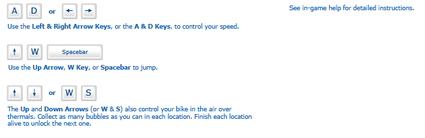 Icycle instructions